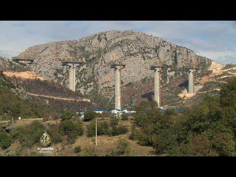 Gradnja najvišeg mosta na Balkanu