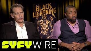 Black Lightning Cast on The Pierce Family Dynamics | SYFY WIRE