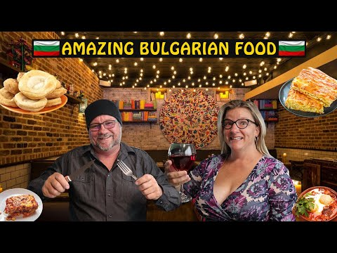 AMERICANS Trying Fine Dining BULGARIAN FOOD | Bulgaria Travel Show