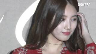 [SSTV영상] 수지, 빨간 원피스 입고 등장~ 아름다운 여신 자태 '감탄'