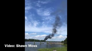 VIDEO: F-35B crashes in Beaufort