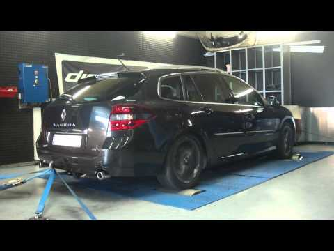 * Reprogrammation Moteur * Renault Laguna 3 dci 150cv @ 206cv Dyno Digiservices Paris