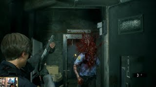 Resident Evil 2 Remake - Shotgun Impacts in E3 Demo