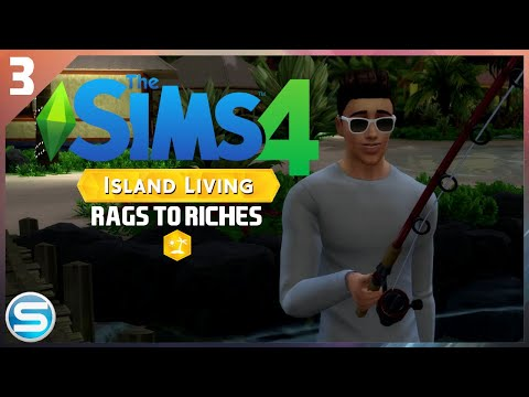 The Sims 4 Island Living Rags To Riches Challenge | Ep.3 - $1,200 FIND!!! WE ARE RICH! |