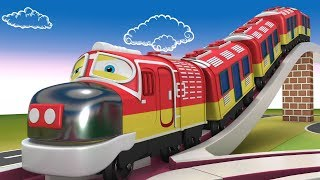 Thomas The Train - Cartoon Cartoon - Kids Videos for Kids - Choo Choo Toy Train - Toy Factory
