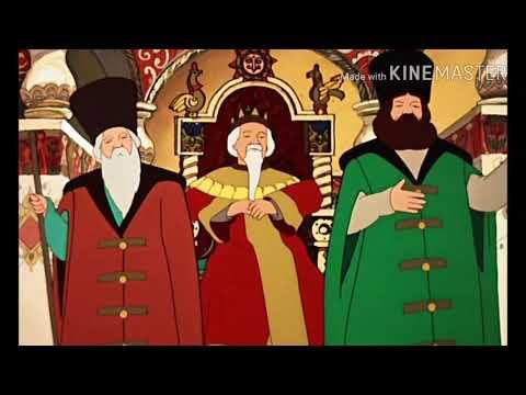 Русска народная сказка. Царевна лягушка. Аудио сказка.