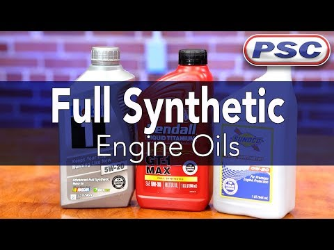 Full Synthetic Engine Oils | Overview