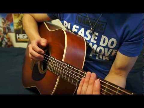 Adding Drum Beats To Guitar Playing Tutorial