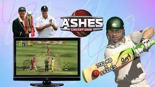 Ashes Cricket 2009 highly compressed download for PC in parts | No survey | full version game |