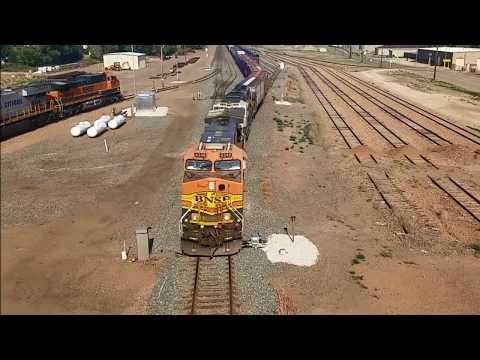 BNSF WB Manifest Freight Dickinson, ND