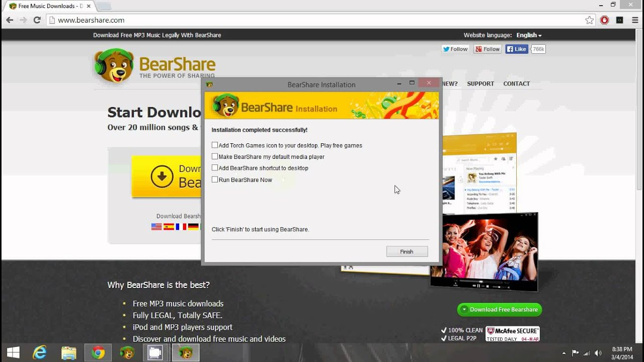 Some nice websites to download songs and movies free