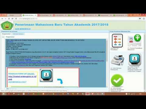 Registrasi Online UKT PMB IAIN Bengkulu
