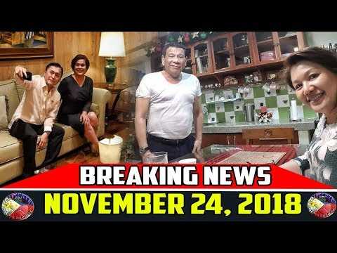 BREAKING NEWS NOVEMBER 24 2018 | DUTERTE | JOSE MARIA SISON | GAS EXPLORATION | GEN. AREVALO