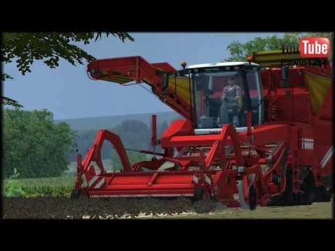 Farming Simulator . Nelamanowice V3. Dzisiaj chłopaki kopią ziemniaki :D
