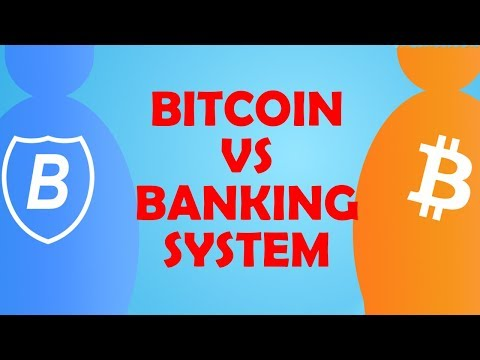 Bitcoin's size compared to Banking System