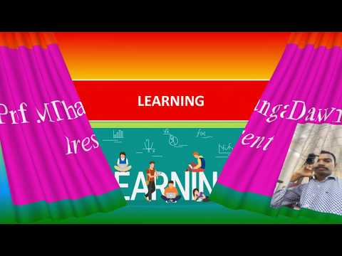 LEARNING -A meaning , definition , principles , characteristics, theories.
