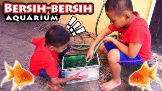 Drama Praya Bersihkan Aquarium Dan Beli Ikan Hias