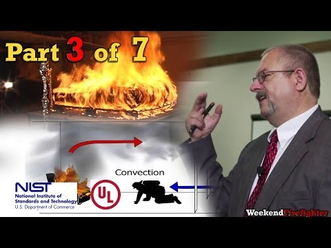 Part 3 of 7: (Fire Dynamics) NIST & UL Research on Fire Behavior & Fireground Tactics