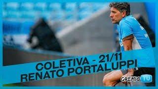 [COLETIVA] Renato Portaluppi - 21/11 l GrêmioTV thumbnail