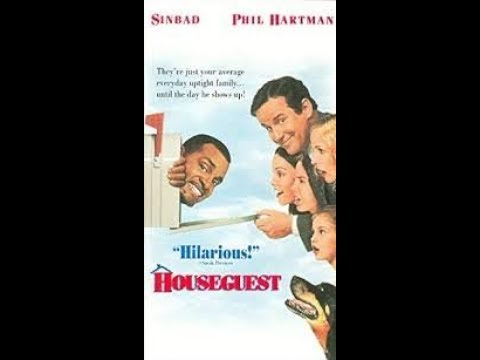 Opening and Closing to Houseguest 1995 VHS ]Hollywood Pictures]