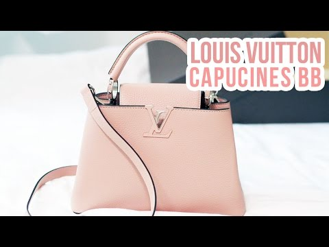 LV CAPUCINES BB : UNBOXING, FIRST IMPRESSIONS, WHAT FITS