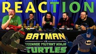 Batman VS Teenage Mutant Ninja Turtles Trailer #1 REACTION!!