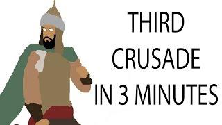 Third Crusade   3 Minute History