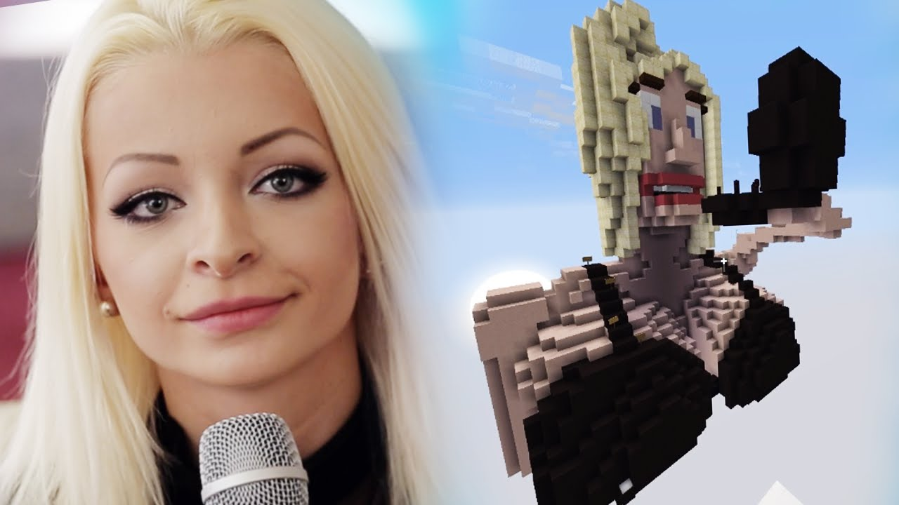 KATJA KRASAVICE'S EIGENES JUMP'N' RUN - YouTube