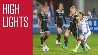 Highlights Olympique Lyon - Ajax Vrouwen (Champions League)