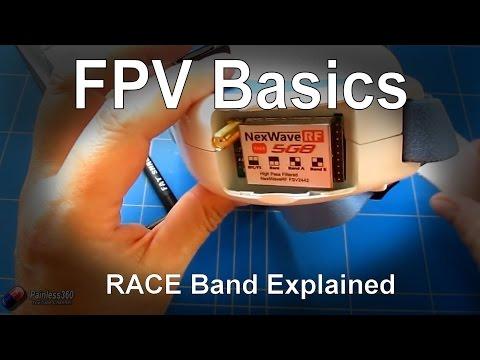 FPV Basics: Race Band explained