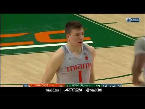 Syracuse vs Miami College Basketball Condensed Game 2018