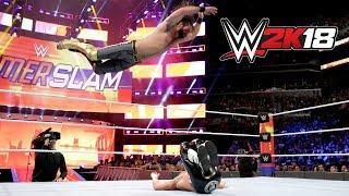 WWE 2K18 - Seth Rollins Vs AJ Styles Vs Daniel Bryan - Summerslam 2018!