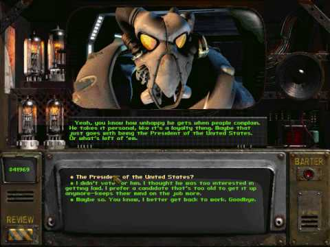 Fallout 2 Enclave Chit Chat