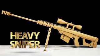 How To Make Fortnite Heavy Sniper Rifle | Amazing DIY Cardboard Toy