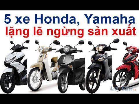 Sốc Toàn Tập: Honda, Yamaha Lặng Lẽ Khai Tử 5 Xe Máy Tại Việt Nam