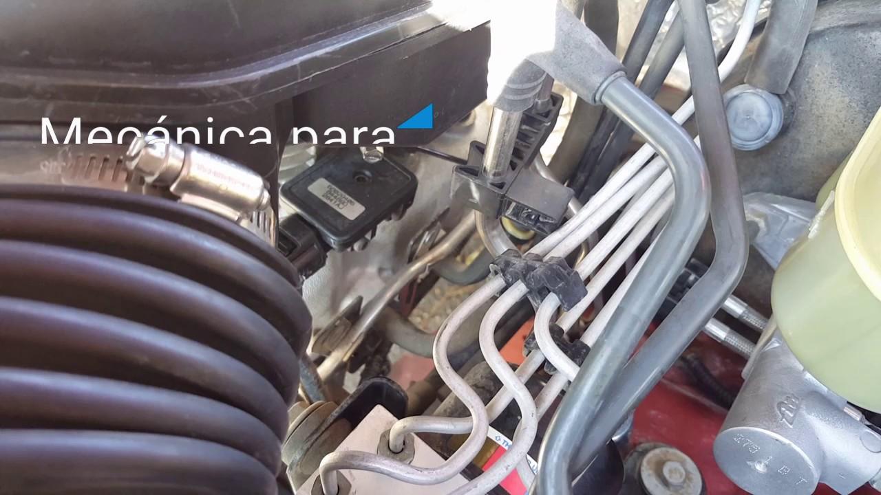 Código P0456 jeep solución