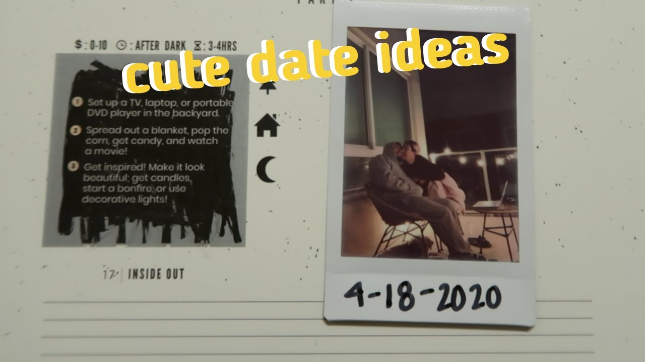 Cute Date Ideas for Couples in Quarantine   The Adventure Challenge