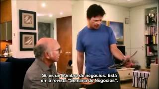 Curb Your Enthusiasm - Larry vs Michael J. Fox (subtitulado)