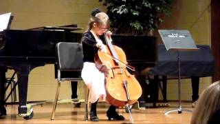 10 yr old plays allegro appassionato by saint-sans