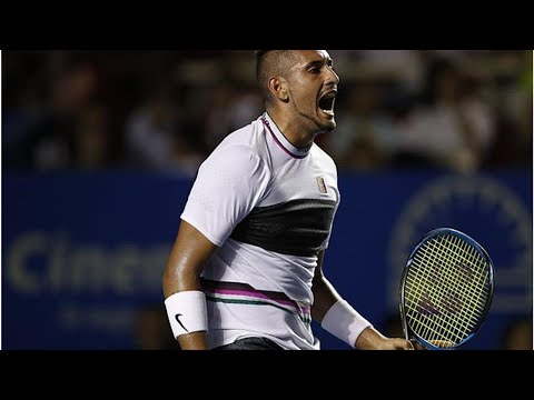 Kyrgios beats Wawrinka to reach Mexico Open semifinals