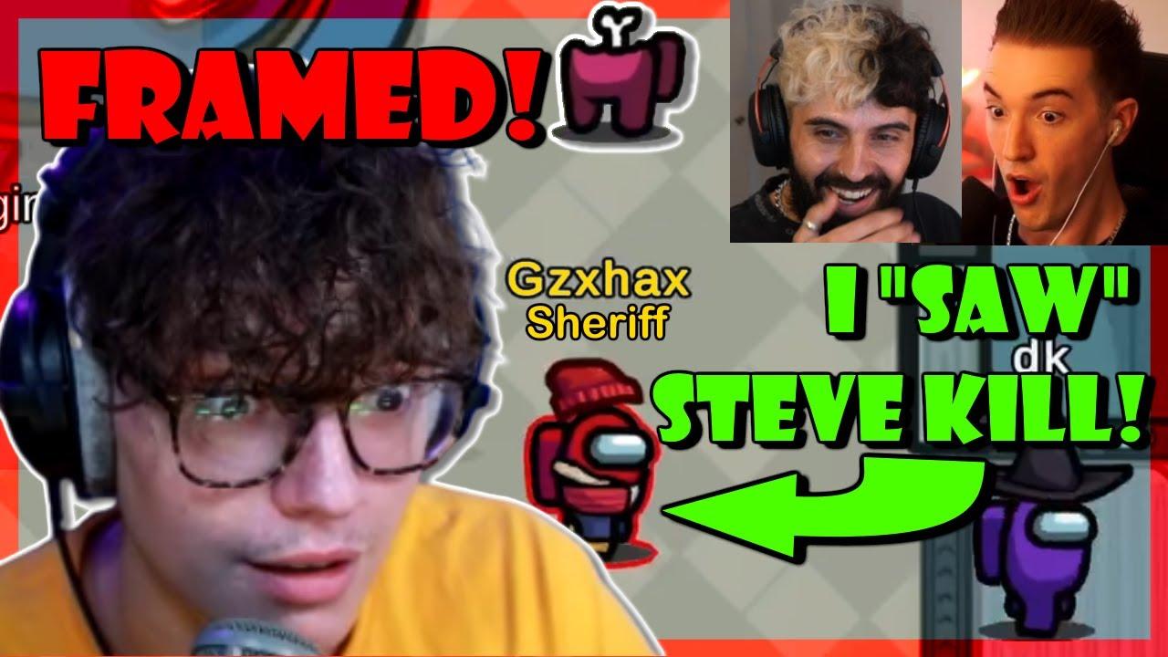 Sheriff Steve FRAMED Hard by Blind Crewmates!