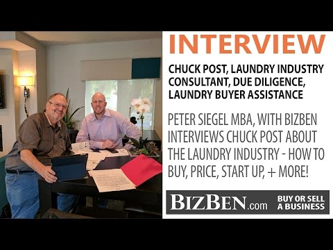 How To Buy A Laundry Business | BizBen Interview With Chuck Post