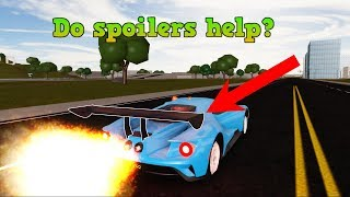 Do spoilers make a difference?.. | ROBLOX: Vehicle Simulator