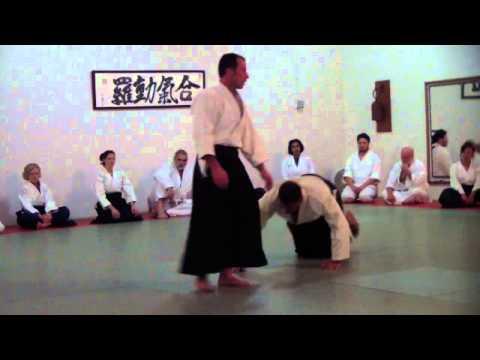 Boris Mandlis, Nidan Aikido, California, Frank Duran Dojo
