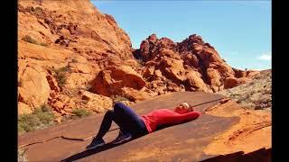 Las Vegas  hiking around calico Red Rock горный поход Лас Вегас класс