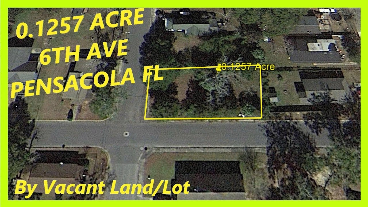 SOLD! - Land for sale in Pensacola FL - 0.1257 Acre in Pensacola, Escambia county, Florida