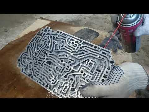 Как избавиться от пинков на АКПП для чайников # чайниками# Чистим гидроблок на Mercedes-Benz W124