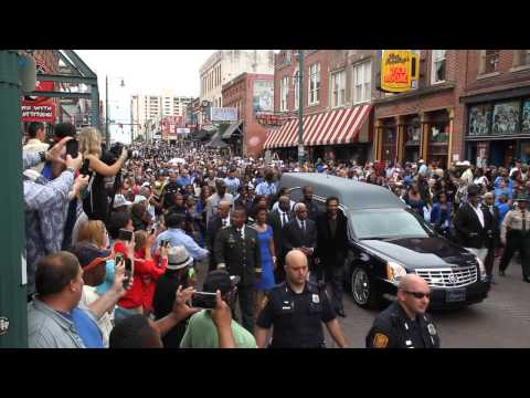 B.B. King's Last Ride on Beale Street, Memphis