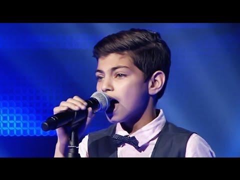 فيديو اغنية أيمن امين هدي يا بحر في برنامج The Voice Kids كاملة HD / مشاهدة اون لاين