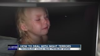 How to deal with night terrors